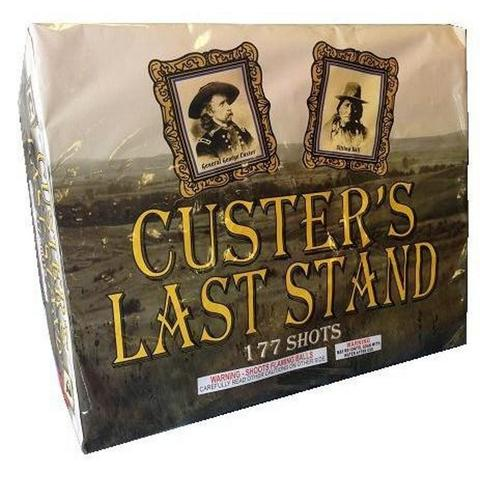 "Custer's Last Stand – 177 Shot by ""Hot Shot"""