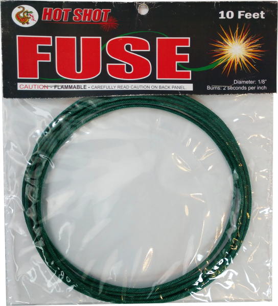 "10′ Fuse by ""Hot Shot"""
