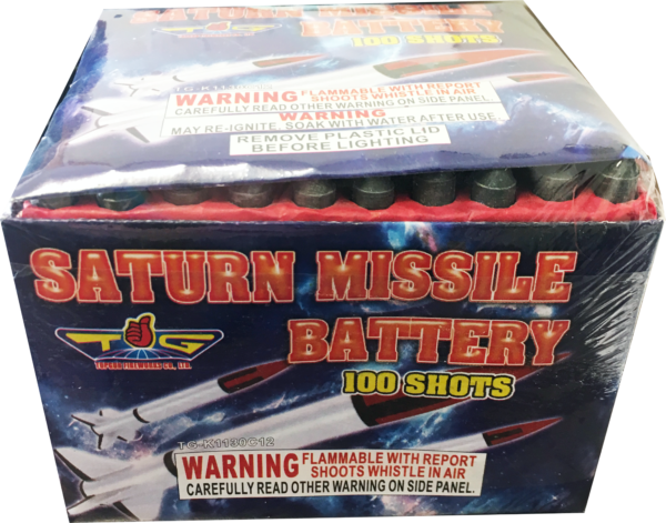 Saturn Missile Battery – 100 Shot