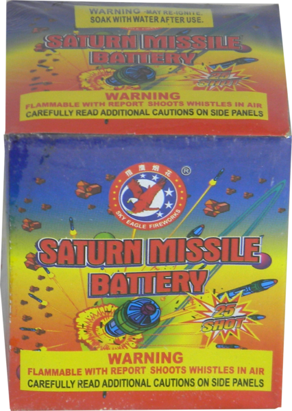 Saturn Missile Battery – 25 Shot