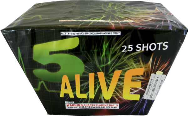 "5 Alive – 25 Shot by ""Hot Shot"""