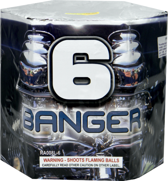 "6-Banger – 6 Shot by ""Hot Shot"""