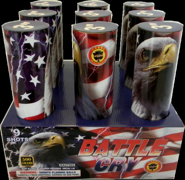Battle Cry – 9 Shot 3″
