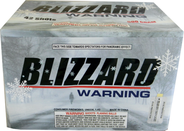 "Blizzard Warning – 42 Shot by ""Hot Shot"""