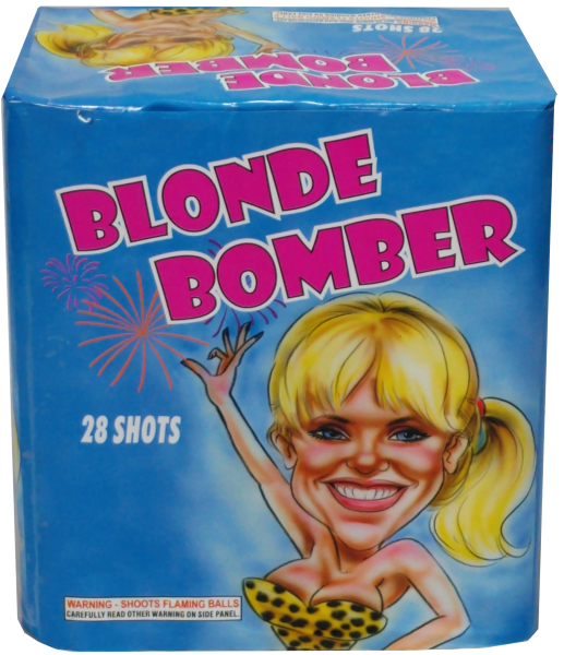 "Blonde Bomber – 30 Shot by ""Hot Shot"""