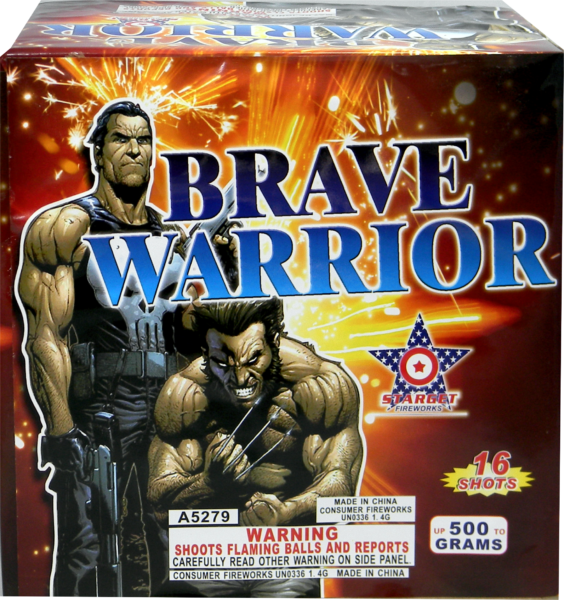 Brave Warrior – 16 Shot