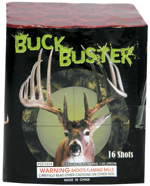 "Buck Buster- 16 Shot by ""Hot Shot"""