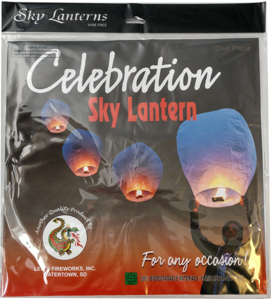 "Celebration – Sky Lantern by ""Hot Shot"""