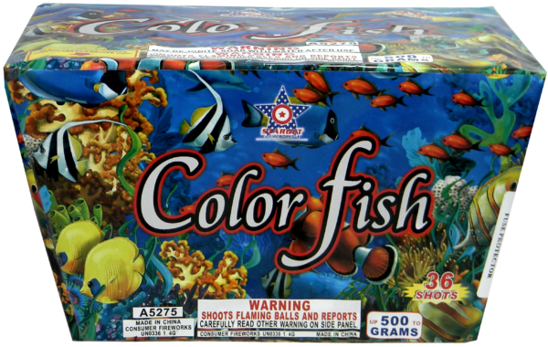 Color Fish – 36 Shot