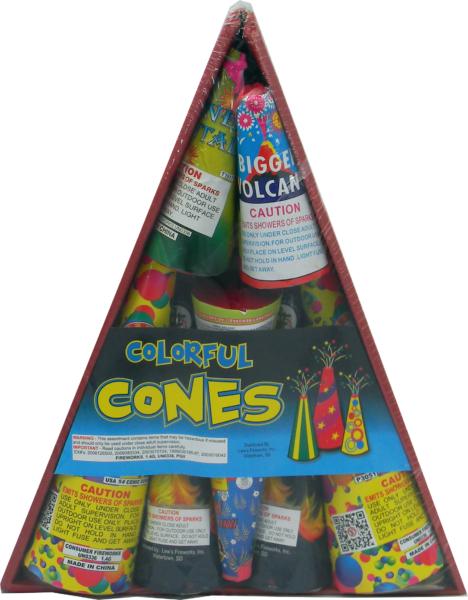 Colorful Cones