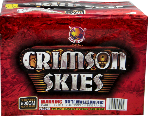 Crimson Skies – 24 Shot
