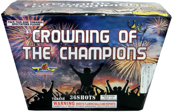 Crowning of the Champions – 36 Shot