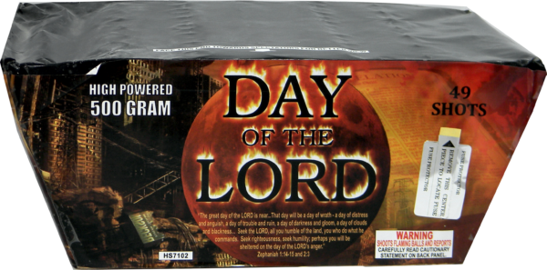 "Day of the Lord – 49 Shot by ""Hot Shot"""