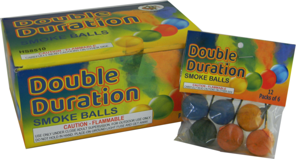 "Double Duration Smoke Ball by ""Hot Shot"""