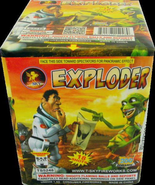 Exploder – 18 Shot