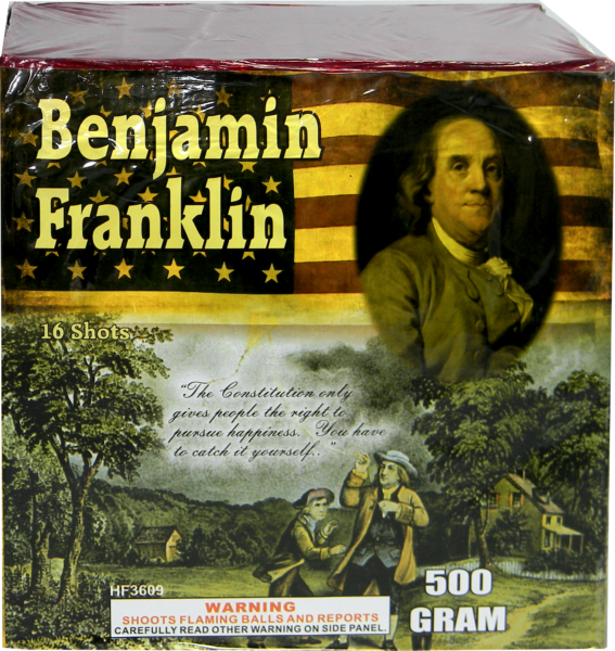 "Founding Fathers – Benjamin Franklin – 16 Shot by ""Hot Shot"""