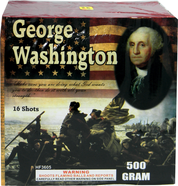 "Founding Fathers – George Washington – 16 Shot by ""Hot Shot"""