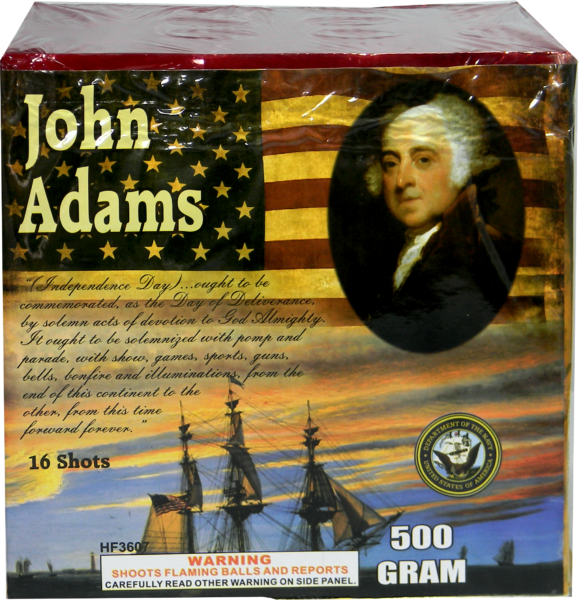 "Founding Fathers – John Adams – 16 Shot by ""Hot Shot"""