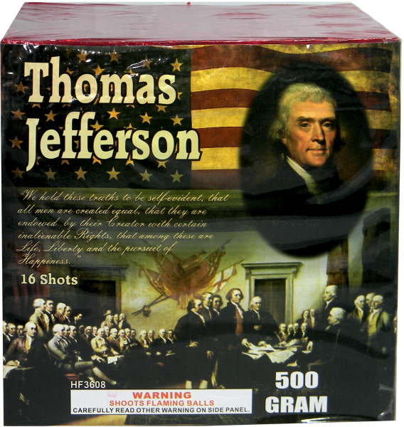 "Founding Fathers – Thomas Jefferson – 16 Shot by ""Hot Shot"""