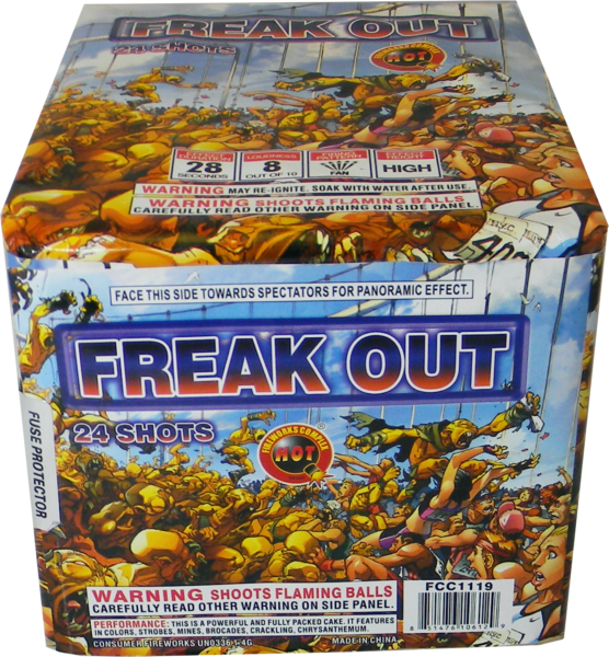 Freak Out – 24 Shot