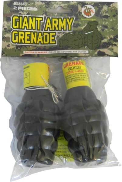 "Giant Army Grenade by ""Hot Shot"""