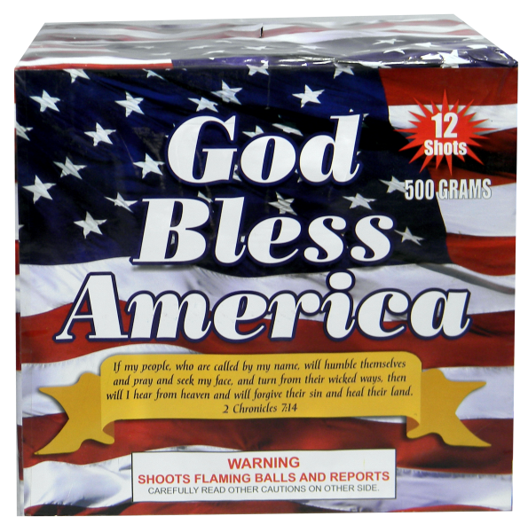 "God Bless America – 12 Shot by ""Hot Shot"""