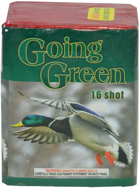 "Going Green – 16 Shot by ""Hot Shot"""