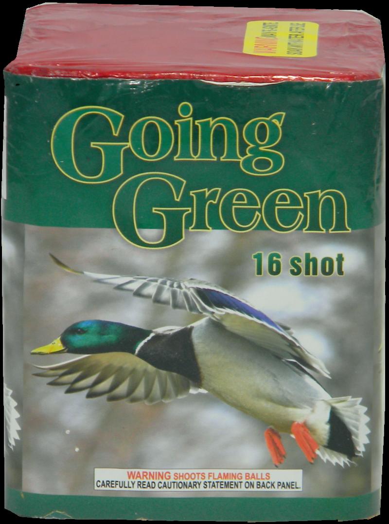 """Going Green – 16 Shot by """"Hot Shot"""""""