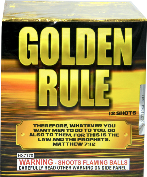 "Golden Rule – 12 Shot by ""Hot Shot"""