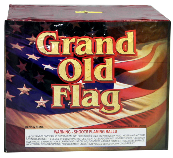 "Grand Old Flag – 28 Shot by ""Hot Shot"""