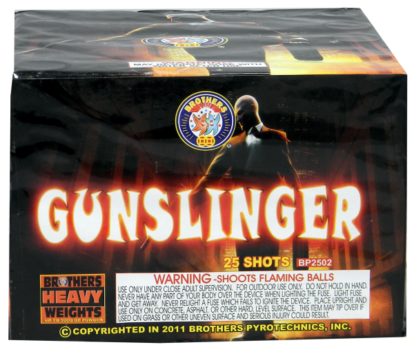 Gunslinger – 25 Shot