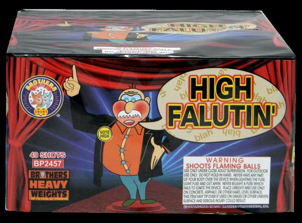 High Falutin' – 49 Shot