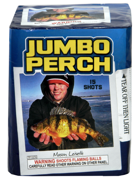 "Jumbo Perch – 15 Shot by ""Hot Shot"""