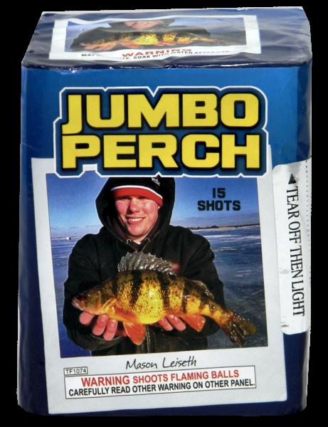 """Jumbo Perch – 15 Shot by """"Hot Shot"""""""