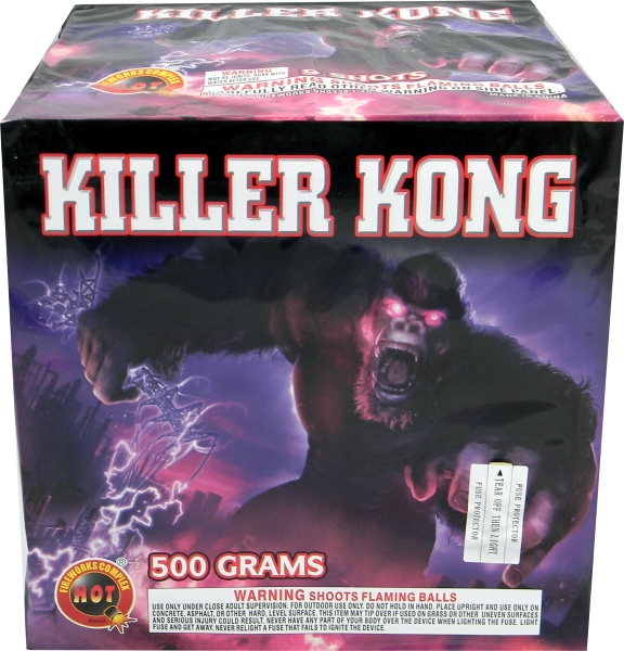 Killer Kong  –  9  Shot (3″)