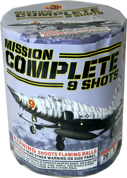 Mission Complete – 9 Shot