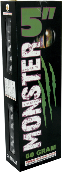 "Monster 5″ – 60 Gram by ""Hot Shot"""