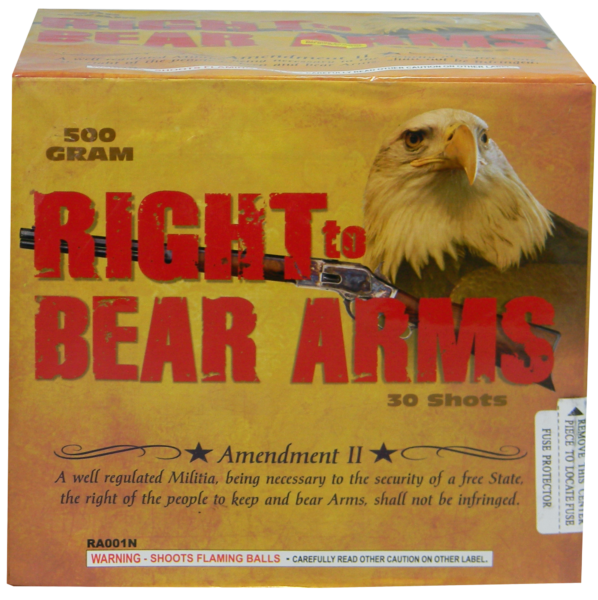 "Right to Bear Arms – 30  Shot by ""Hot Shot"""