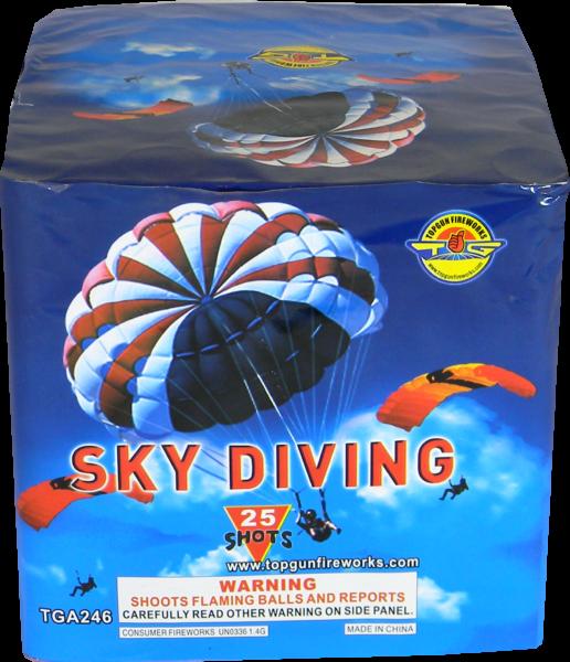 Sky Diving – 25 Shot