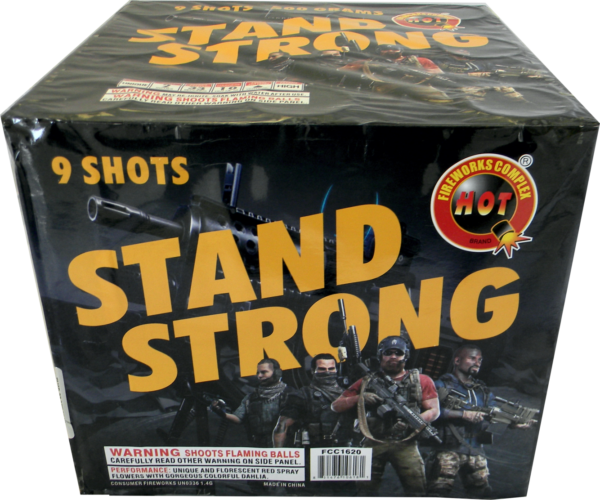 Stand Strong – 9 Shot