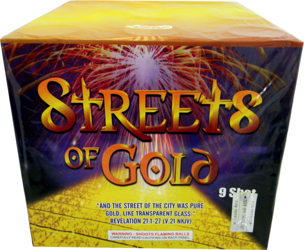 "Streets of Gold – 9 Shot 3″ by ""Hot Shot"""