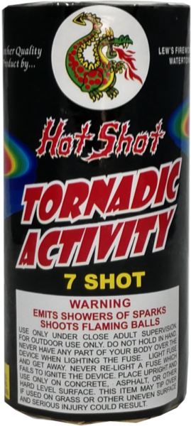 "Tornadic Activity – 7 Shot by ""Hot Shot"""