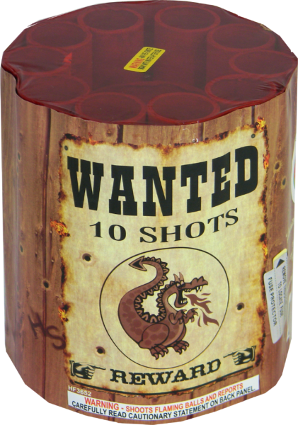 "Wanted- 10 Shot by ""Hot Shot"""