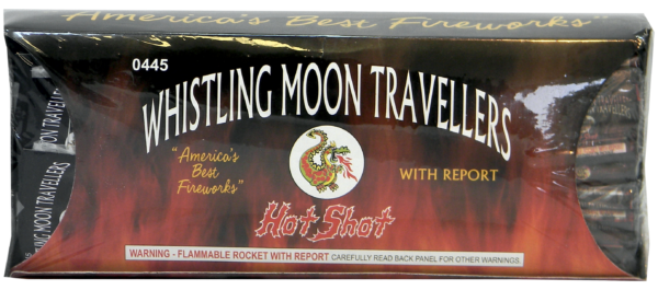 "Whistling Bottle Rocket by ""Hot Shot"""