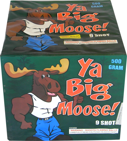 "Ya Big Moose – 9 Shot by ""Hot Shot"""