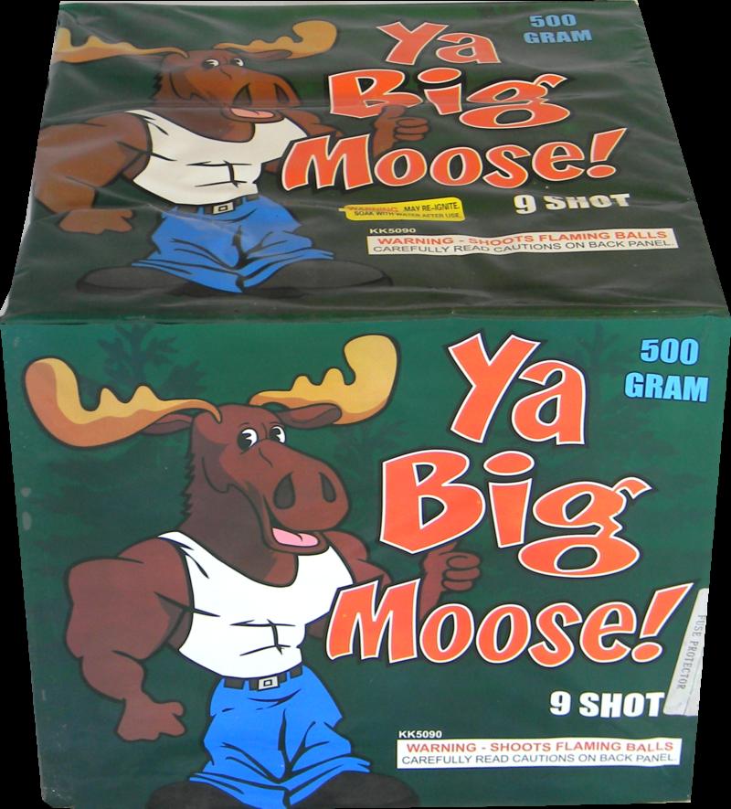 "Ya Big Moose – 9 Shot by ""Hot Shot"""
