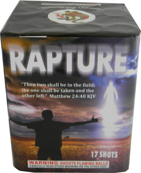 "Rapture – 17 Shot by ""Hot Shot"""