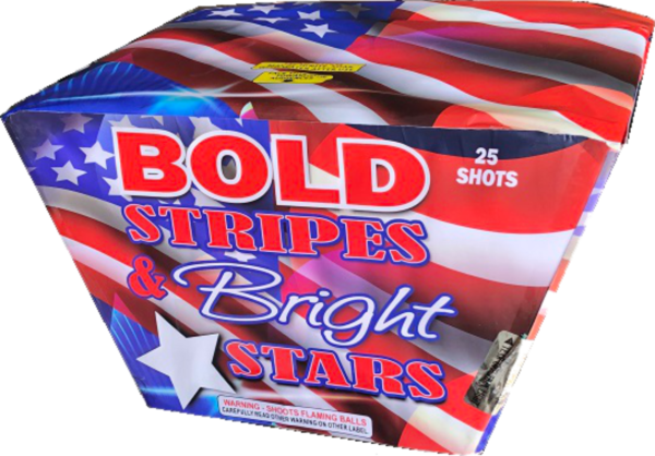 "Bold Stripes and Bright Stars – 25 Shot by ""Hot Shot"""