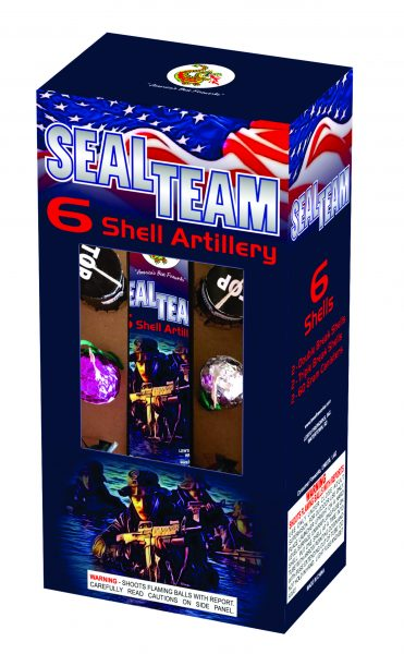 Seal Team 6 Artillery Shells