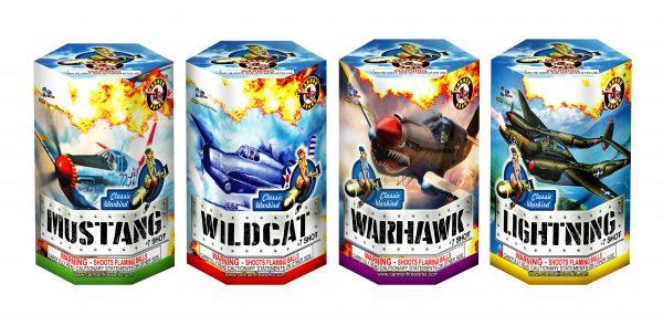Classic Warbird – 7 Shot (Mustang, Wildcat, Warbird, Lightning)